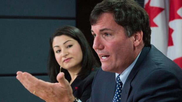 Government House Leader Dominic LeBlanc, right, and Maryam Monsef, the minister of democratic institutions, tried to reassure senators this week that the Senate can operate without a government whip. It's an idea senators are apparently going to have to get used to.
