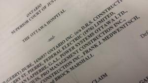 Ottawa Statement of Claim