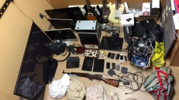 Shediac RCMP are asking for the public's help to identifying these items they recovered after searching a home in Scoudouc.