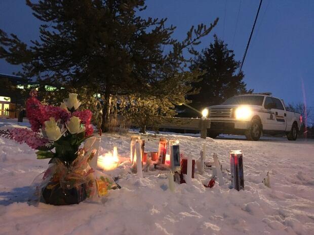 La Loche candle vigil