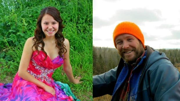 Marie Janvier and Adam Wood were killed in a shooting in La Loche, Sask. on Friday.