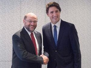 Trudeau Davos