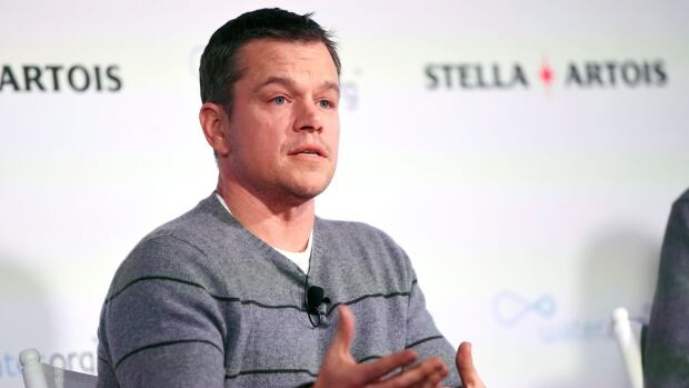 Actor Matt Damon takes part in a panel discussion at the 2016 Sundance Film Festival on Jan. 23 in Park City, Utah.