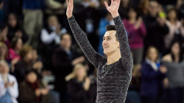 Canadian figure skating champion Patrick Chan says that quad jumps are becoming like a slam dunk contest, taking away from figure skating's other elements.