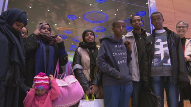 A family of 11 children arrive in Winnipeg on Jan. 14, after escaping Saudi Arabia, where they had been hiding for months under the threat of deportation.