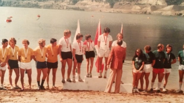 Atheletes at the 1978 B.C. Summer Games in Penticton, the first ever B.C. Games.