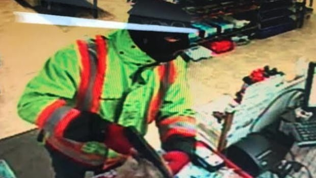 RCMP are asking for the public's help to identify the person show in this photograph from surveillance equipment at JJ's Convenience in Moncton.