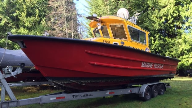 Soon volunteers with the Royal Canadian Marine Search and Rescue will train at a new facility near Victoria.