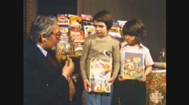 A young generation of comic book fans