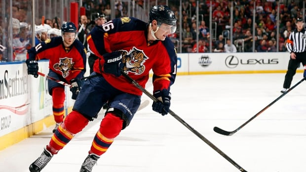 Aleksander Barkov, 20, has helped surprising Florida to the top of the Atlantic Division.