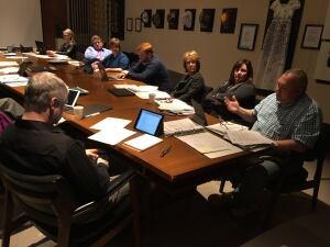 Winnipeg School Division trustees meeting