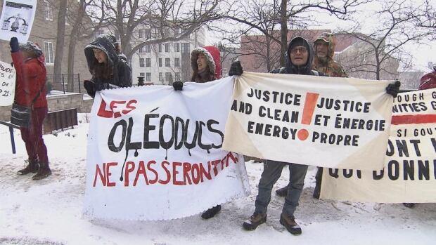 Trudeau protest