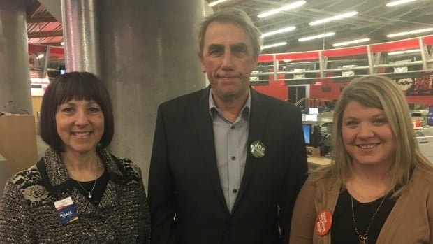 B.C. Liberal Party's Joan Isaacs, B.C. Green Party's Joe Keithley, and B.C. NDP's Jodie Wickens talk transit and education on CBC Radio's The Early Edition.