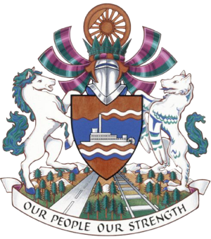 Whitehorse coat of arms