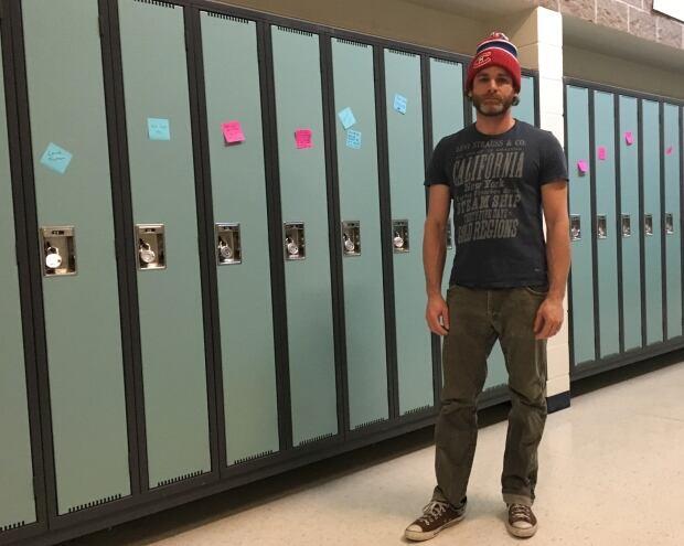 Brian Morgan, teacher Clearwater school 3