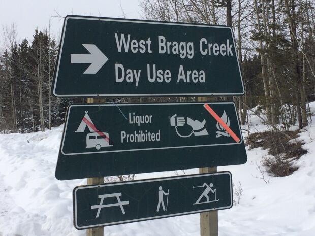 West Bragg Trailhead