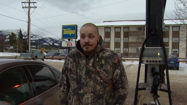 Low fuel prices are 'not too bad at all,' to Kyle Dimond in Whitehorse.