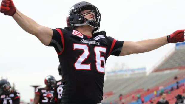 In his ninth season with the Stampeders, Cote served as one of the offensive captains and started all 18 regular-season games as well as both playoff contests.