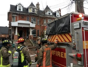 Toronto Parkdale rooming house fire