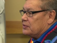 Chief Jim Bear, Brokenhead Ojibway Nation
