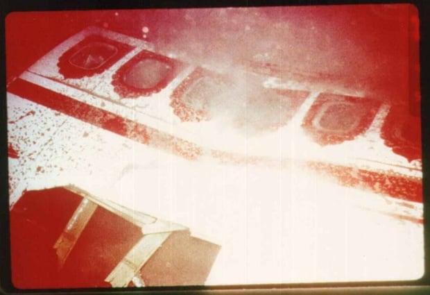 Air India-underwater wreckage