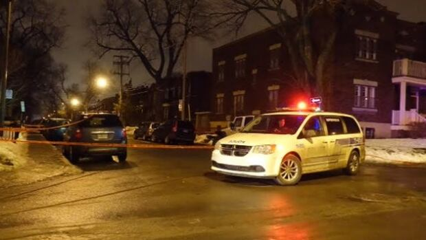 Police sealed off the streets around Monkland Avenue and Girouard Avenue following the stabbing early Wednesday morning.