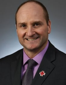 Rick Caissie, Canadian Red Cross, director general prevention and safety