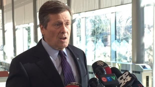 Toronto Mayor John Tory says police are spending a lot of time discussing 'hooks and triggers' during training sessions.