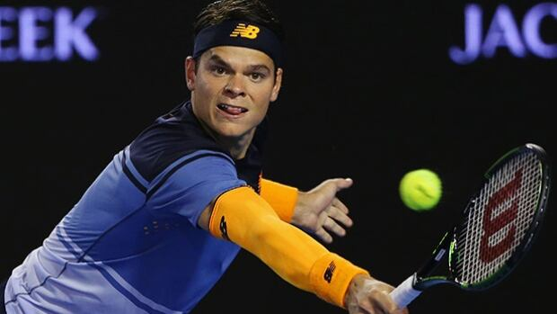 Milos Raonic is one win away from becoming the first tennis player representing Canada to reach a Grand Slam men's final.