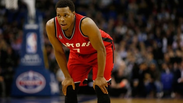 Raptors all-star guard Kyle Lowry is questionable for Thursday's home date with the New York Knicks after spraining his wrist Tuesday.