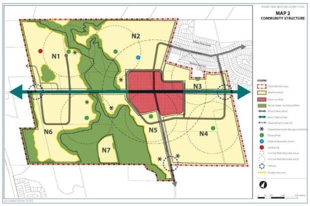 Beaver Creek Meadows map