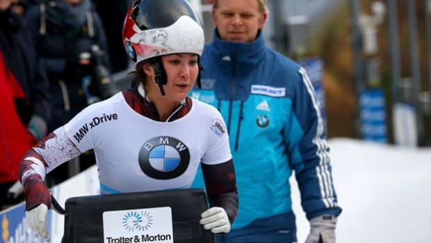 In just her second season competing on skeleton's World Cup circuit, North Vancouver's Jane Channell has already been on the podium twice and is rapidly improving her sliding skill.