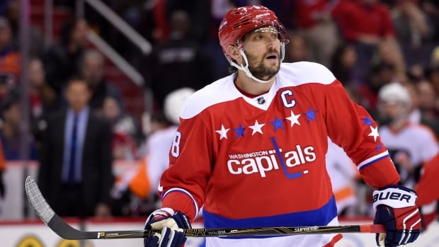 Washington Capitals left wing Alex Ovechkin was set to captain the Metropolitan division in the 3-on-3 tournament at the NHL All-Star Game on Sunday.