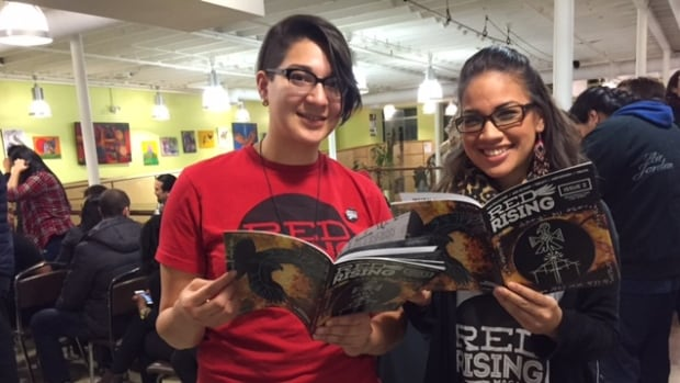 Sadie-Phoenix Lavoie and Ashley Richard, co-founders of Red Rising Magazine.