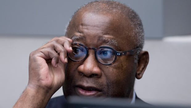 Former Ivory Coast president Laurent Gbagbo awaits the start of his trial at the International Criminal Court in The Hague, Netherlands on Thursday. Gbagbo and one of his cabinet ministers stand trial for their alleged involvement in deadly post-election violence.