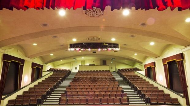 The Florence Simmons Performance Hall holds more than 300 people.