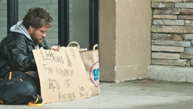Pastor Elizabeth Karp says she's seen a significant rise in the number of homeless people over the past year in Strathmore and links that to the downturn in Alberta's oil and gas industry.