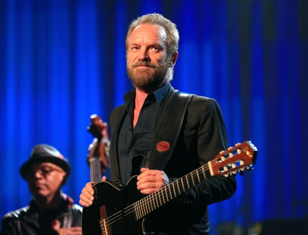Sting plays NBA All-Star Game