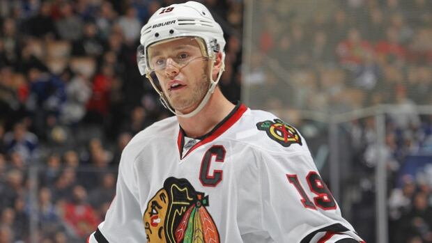 Blackhawks captain Jonathan Toews will not play in the NHL All-Star Game after leaving Tuesday's game due to illness. His place on the roster has been taken by Nashville's James Neal.