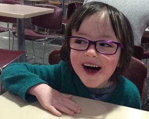 Lyle purple glasses