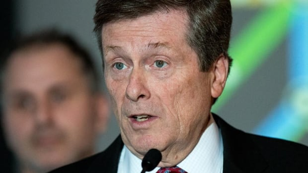 Mayor John Tory says the city will buy six new work trucks for TTC maintenance in order to reduce service delays.