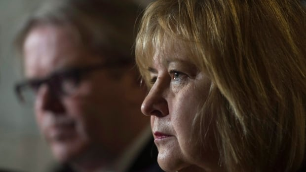 Minister of Labour MaryAnn Mihychuk and Parliamentary Secretary for the Minister of Labour Roger Cuzner pledged Thursday to reverse legislation from the Stephen Harper era that critics branded anti-union. The Conservatives said they would consider using their majority in the Senate to block legislation.