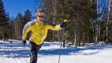 Cross-country skiier