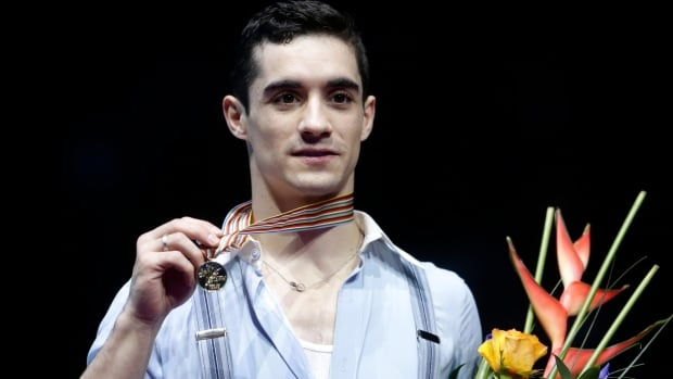 Spain's Javier Fernandez won his fourth consecutive European figure skating championship by nearly 60 points over Israel's Alexei Bychenko in Bratislava, Slovakia.