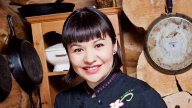 Cezin Nottaway is a trained Algonquin chef who gives traditional family recipes a modern twist.