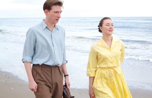 Domhnall Gleeson and Saoirse Ronan
