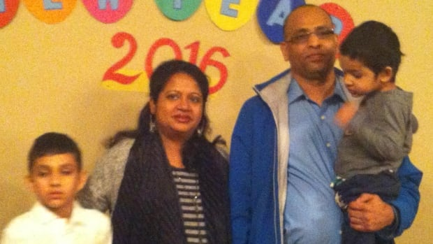 Belal Hossain is now caring for two young sons without his wife, Farzana Nasrin, who died following the recent birth of their third son, in Northern Lights Regional Health Centre in Fort McMurray. Alberta Health Services says such deaths are 'extremely rare.'