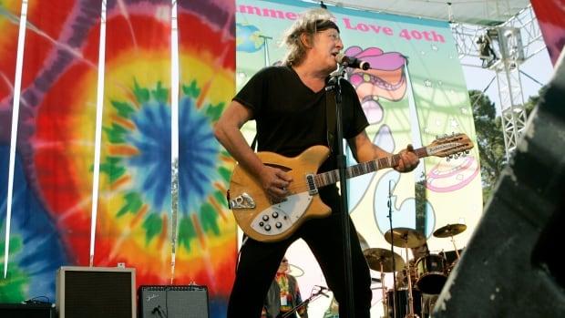 Guitarist Paul Kantner is shown during a concert at Golden Gate Park in San Francisco on September 2, 2007.