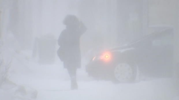 The Moncton area is forecast to get up to 35 centimetres of snow in a storm hitting the province Friday.