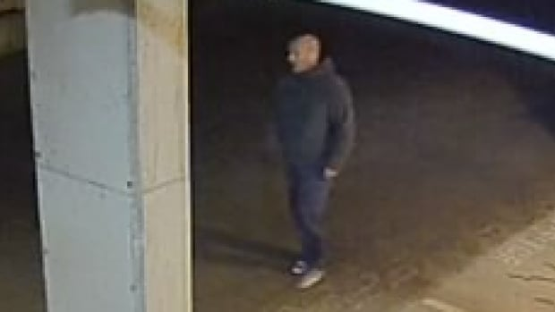 Saanich police have release this surveillance photo of a man wanted in connection with a disturbing sex assault and robbery.